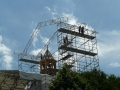 Pose du clocher - 5 Juin 2013
