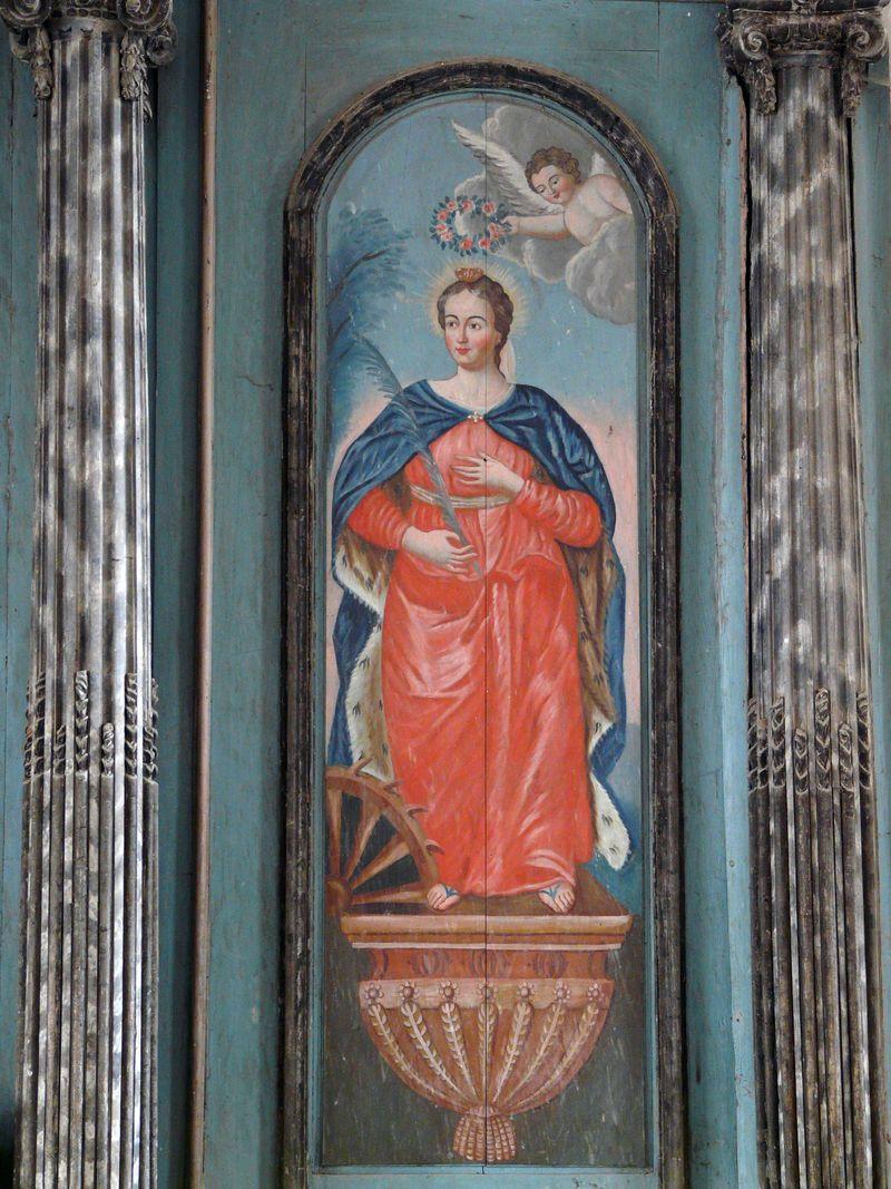 Sainte Catherine - retable secondaire