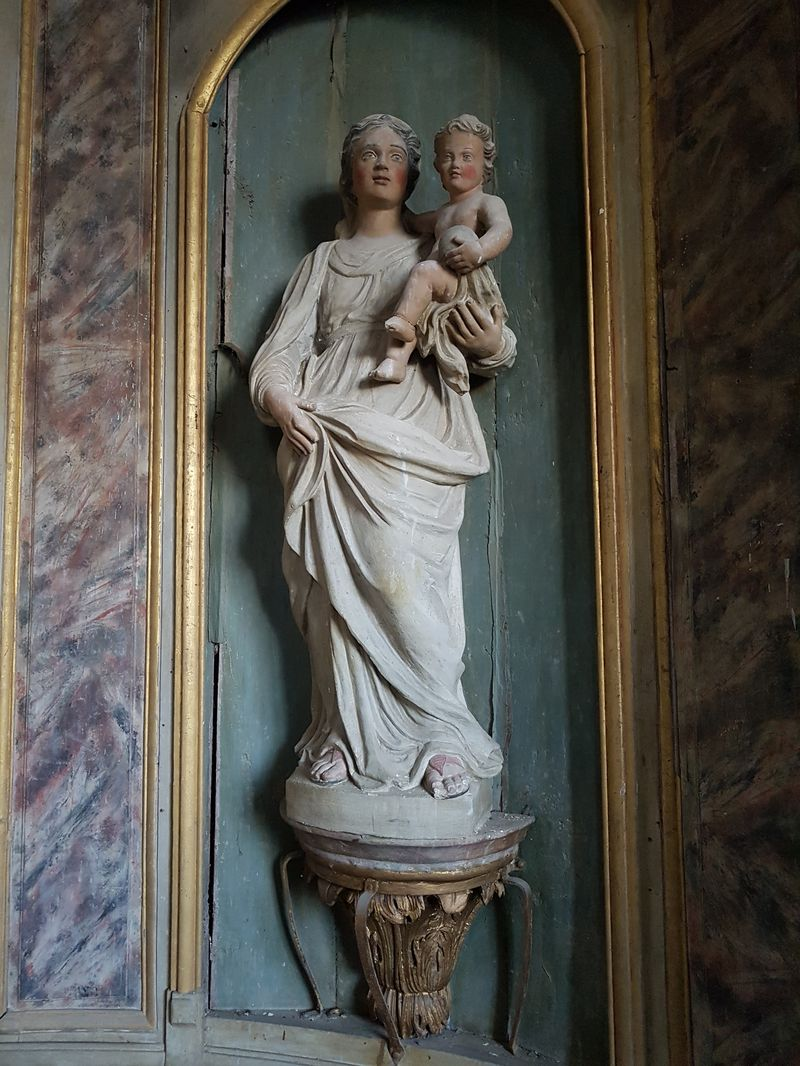 Vierge à l'Enfant - retable principal