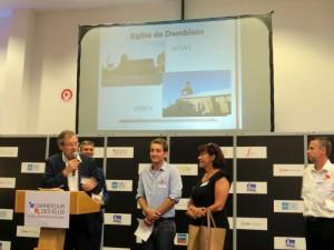 Remise du prix régional des Rubans du Patrimoine 2015 - Photo: Fondation du Patrimoine